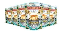 Performance Protein Pancake and Waffle Mix with Whey Protein by Birch Benders, Just Add Water, 16 Ounce, Pack of 6