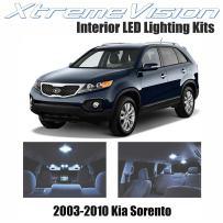 Xtremevision Interior LED for Kia Sorento 2003-2010 (9 Pieces) Cool White Interior LED Kit + Installation Tool