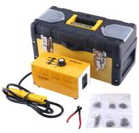 8MILELAKE 110V Hot Stapler Plastic Welder Bumper Repair Kit with Staples Box and Snips for Plastic Repair