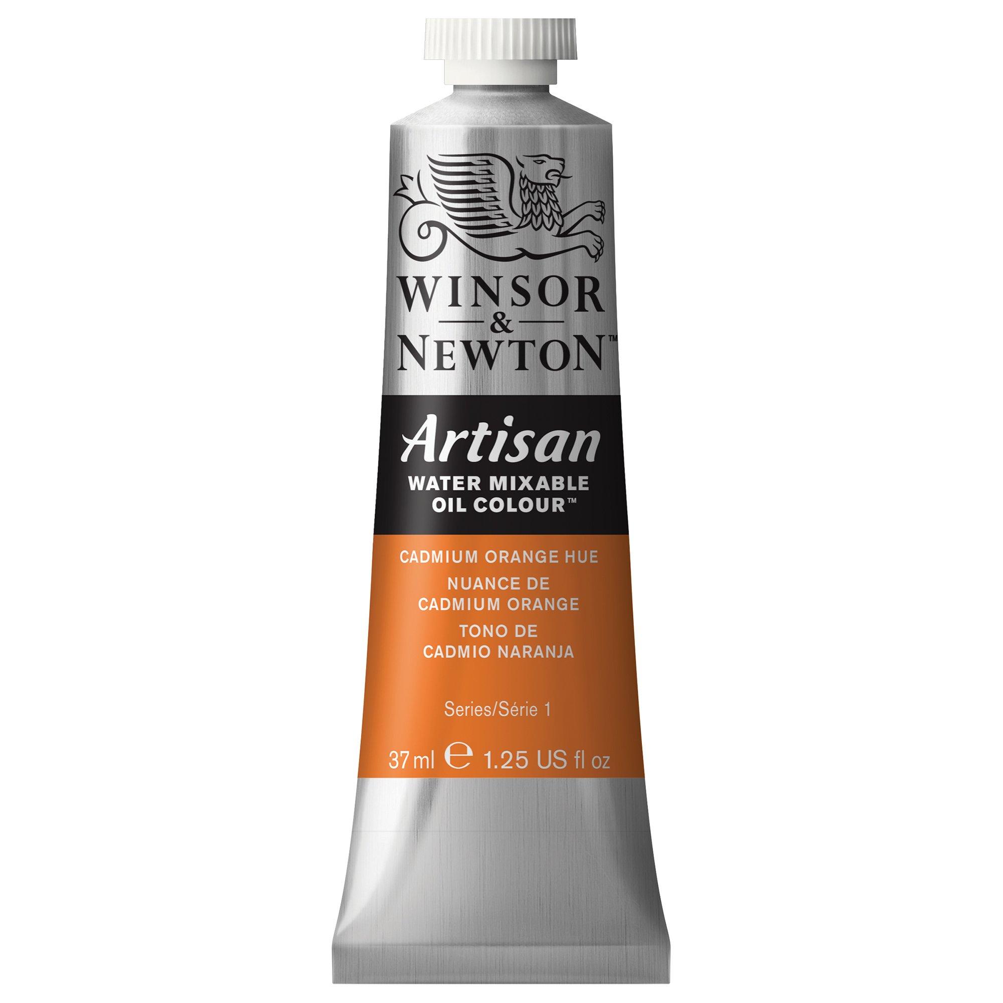 Winsor & Newton 1514090 Artisan Water Mixable Oil Colour, 37ml Tube, Cadmium Orange Hue, 37-ml