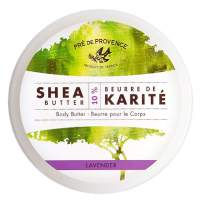 Pre de Provence Body Butter Enriched with 10% Shea Butter for Soothing & Moisturizing Dry Skin - Lavender