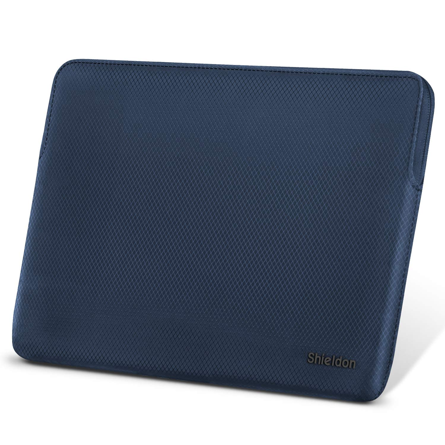 SHIELDON Water Repellent Laptop Sleeve Shockproof Case Bag Cover with Pocket Compatible with 13-13.3 Inch MacBook Air Retina,MacBook Pro Retina,Surface Laptop2,IdeaPad 730S,XPS 9370,Switch 3 - Blue
