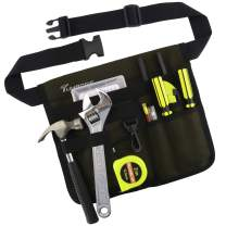 Tool Bags Professional Electrican's Tool Pouch With Belt Bag Many Pockets for Maintenance Tool Pouch (Green)