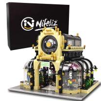 Nifeliz Street Botanical Garden MOC Building Blocks and Engineering Toy, Construction Set to Build, Model Set and Assembly Toy for Teens and Adult(2147 Pcs)