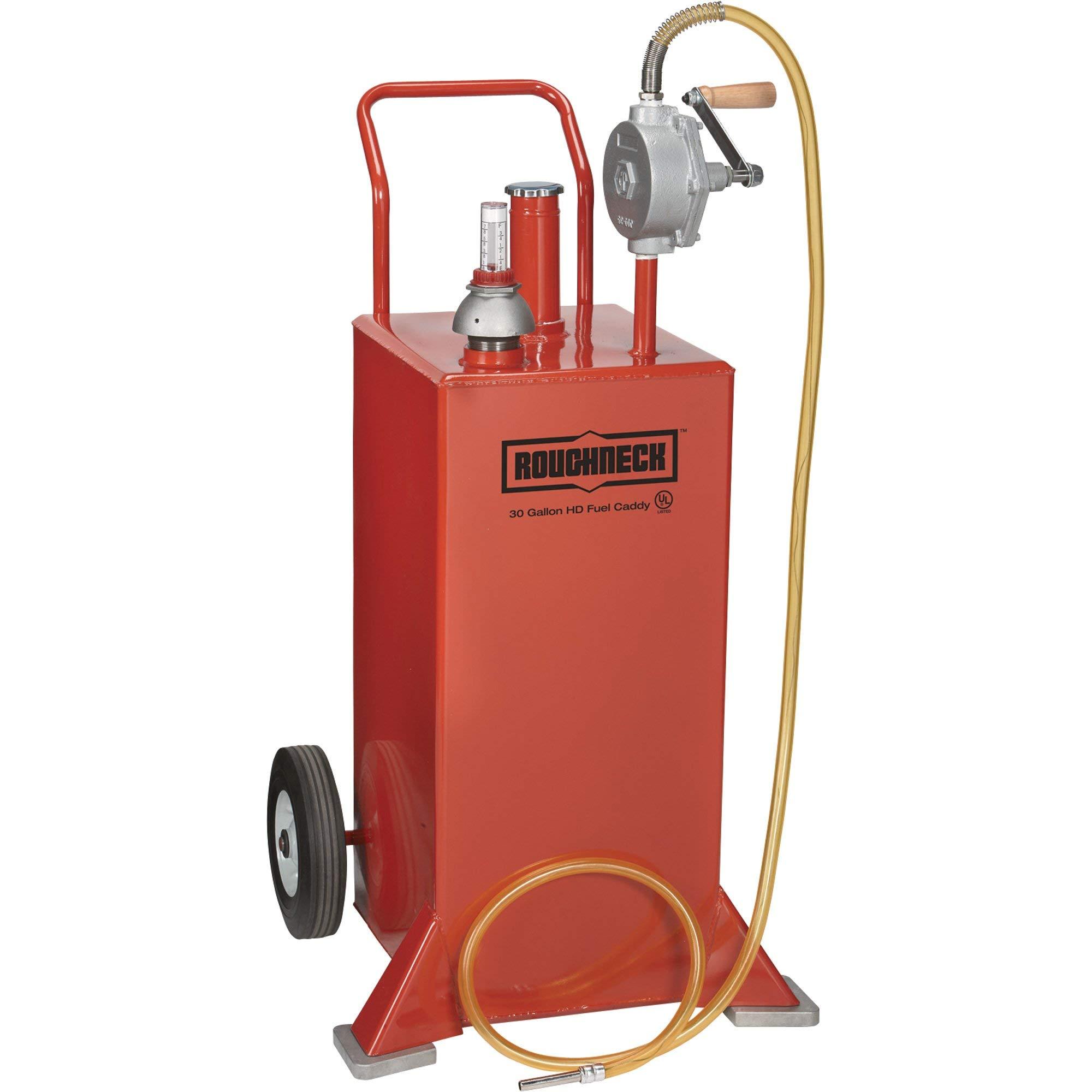 Roughneck UL Listed Gas Caddy - 30-Gallon, Steel