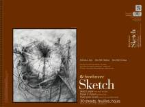 """Strathmore 455-18 400 Series Sketch Pad, 18"""" x 24"""" Wire Bound, 30 Sheets"""