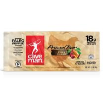 Caveman Foods Paleo Primal Bar, Chicken with Sweet Cherry, 1.5 Ounce Bars (12 Count Box)