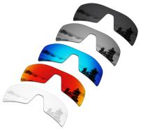 SmartVLT Set of 5 Men's Replacement Lenses for Oakley Oil Rig Sunglass Combo Pack S01