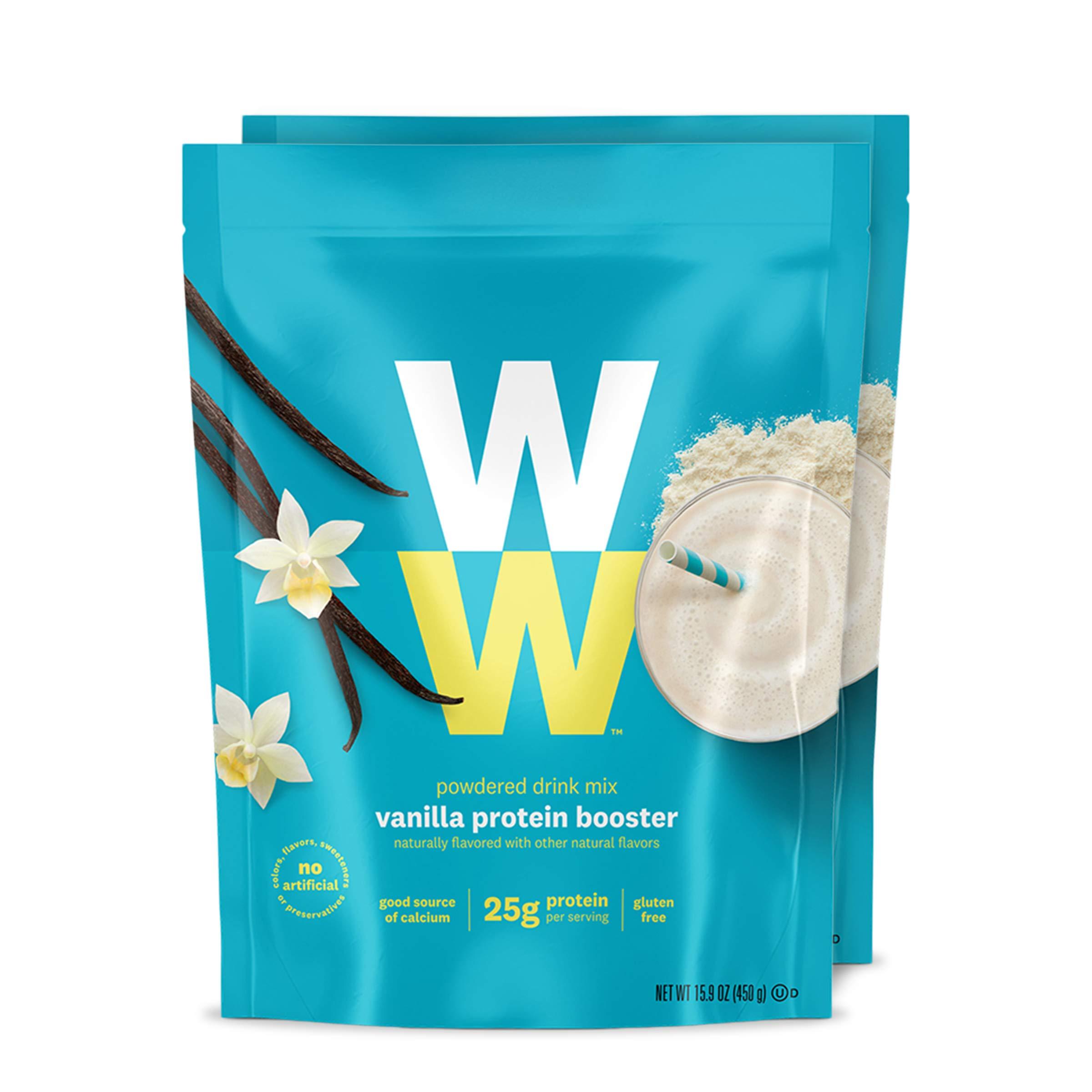 WW Vanilla Protein Booster - Whey Protein Powder, 2 SmartPoints - Weight Watchers Reimagined