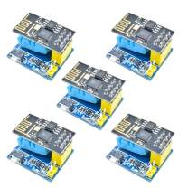 Dmyond 5pcs ESP01 ESP8266 DHT11 Temperature&Humidity WiFi Shield Sensor Module ESP-01S ESP8266 WiFi WirelessTransmission Module