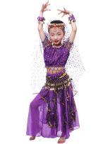 Astage Little Girl/Big Girl Elegant Belly Dance Costume Set,All Accessories
