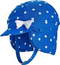 Coolibar UPF 50+ Baby Girl's Paddle Swim Cap - Sun Protective