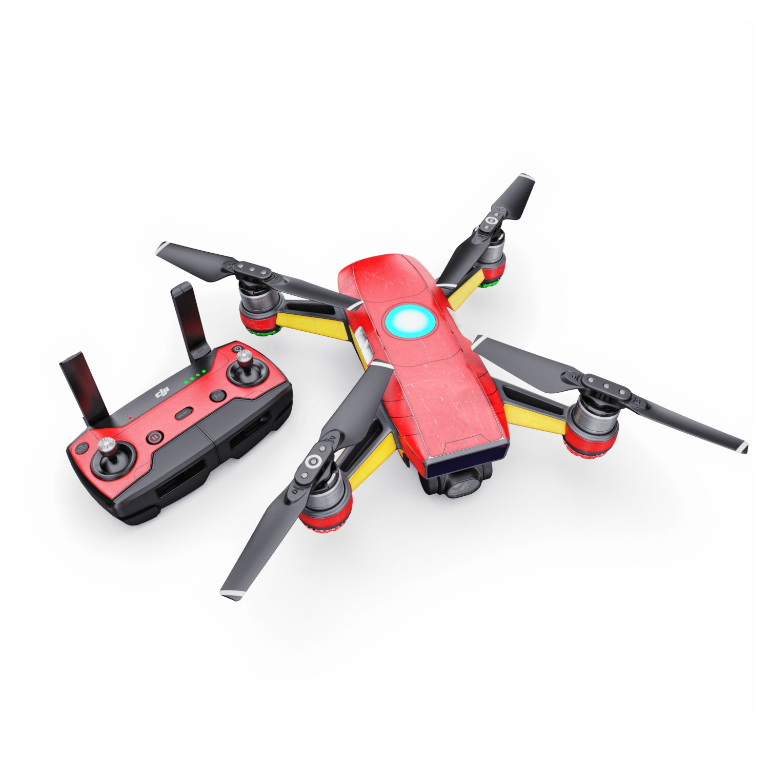 Mark XLIII Decal for Drone DJI Spark Kit - Includes Drone Skin, Controller Skin and 1 Battery Skin