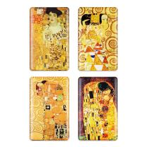 Fridge Magnets Klimt Refrigerator Magnet Art Decoration Kiss Satisfy Large Magnet Decorative for Whiteboard Lockers Office Gifts for Kids Adults and Friends (Tree of life)
