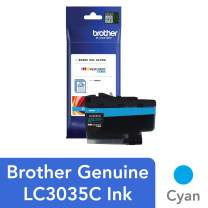 Brother Genuine LC3035C, Single Pack Ultra High-Yield Cyan INKvestment Tank Ink Cartridge, Page Yield Up to 5,000 Pages, LC3035, Amazon Dash Replenishment Cartridge