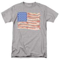 Popfunk Bacon USA Flag T Shirt & Stickers