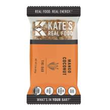 Kate's Real Food Granola Bars 12 Pack | Tiki Bar Mango Coconut | Clean Energy, Organic Ingredients, Gluten Free, Non GMO | All Natural Delicious Health Snack