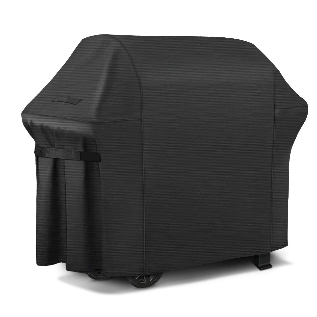 iCOVER Gas Grill Cover-72 inch 600D Canvas Waterproof Fade Resistant Heavy Duty Barbeque BBQ Grill Cover Sized for Weber,Char Broil,Holland, Jenn Air,Brinkmann.G21655.