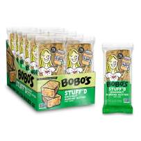 Bobo's Oat Stuff'd Bars (Coconut Almond Nut Butter, 12 Pack of 2.5 oz Bars) Gluten Free Whole Grain Rolled Oat Bars - Great Tasting Vegan On-The-Go Snack, Made in the USA