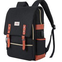 """JDHDL Unisex College Bookbag 15.6"""" Travel Business Vintage Backpack Gift Bag"""