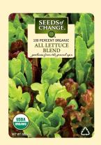 Seeds of Change 05944 Certified Organic Seed, All Lettuce Mix