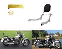 Promise Faster Backrest Sissy Bar + Luggage Rack for Honda Shadow Aero 750 VT750C 2004-2012
