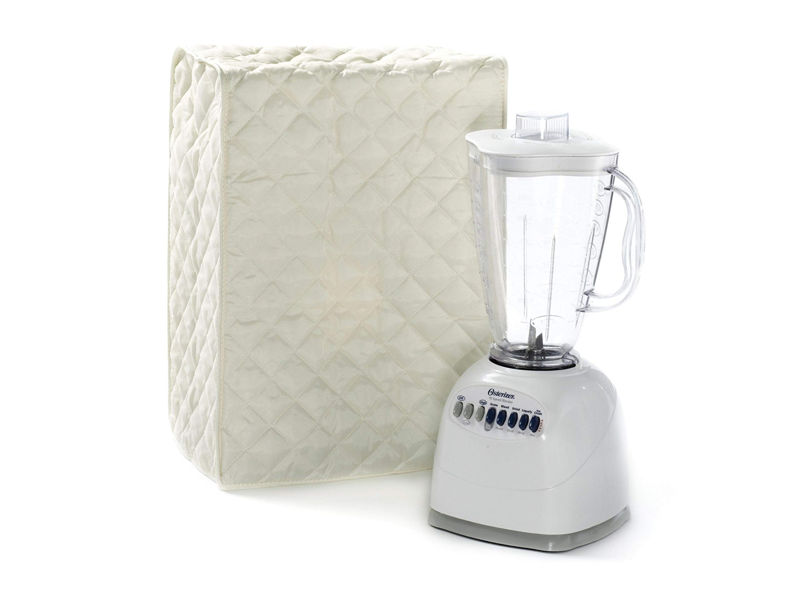 Covermates Keepsakes - Blender Cover – Dust Protection - Stain Resistant - Washable – Appliance Cover - Cream