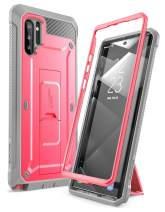 SupCase Unicorn Beetle Pro Series Case for Samsung Galaxy Note 10 (2019 Release), Full-Body Rugged Holster and Kickstand with-Out Built-in Screen Protector (Pink)