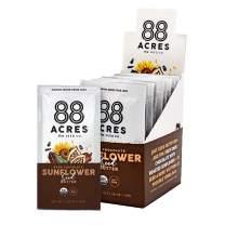 88 Acres Organic Sunflower Seed Butter   Gluten Free, Nut-Free Seed Spread   Vegan & Non GMO (Dark Chocolate Sunflower Seed)