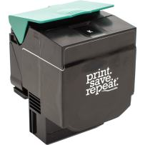 Print.Save.Repeat. Lexmark C540H1KG Black High Yield Remanufactured Toner Cartridge for C540, C543, C544, C546, X543, X544, X546, X548 [2,500 Pages]