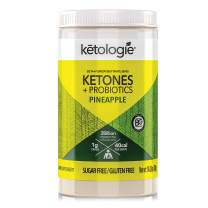 Ketologie BHB Exogenous Ketones Powder with Probiotics (Pineapple)