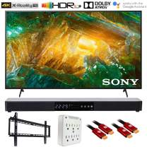 "Sony XBR55X800H 55"" X800H 4K Ultra HD LED TV (2020) with Deco Gear Soundbar Bundle"