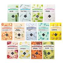 ETUDE HOUSE 0.2mm Therapy Air Mask Combo Pack (19pcs) | Korean Masks | Light and Comfortable Like the Air | Hypo-Allergenic Mask Sheet for Sensitive Skin Type