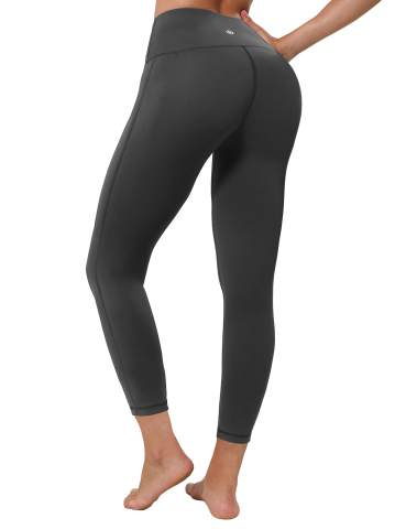 BUBBLELIME 22//26//28 Inseam Yoga Pants Inner Pocket Workout Running Leggings High Waist Single Line Long Pants