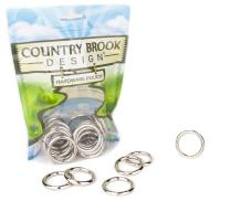 10 - Country Brook Design - 1 Inch Welded Heavy O-Rings