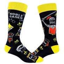 Noble Gases Socks Funny Science Chemistry Footwear