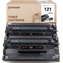 Ziprint Compatible Toner Cartridge Replacement for Canon 121 CRG-121 use with Canon imageCLASS D1620 D1650 (Black, 2-Pack)