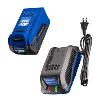 Westinghouse 4B4AH4BC Battery OPE, 40V 4.0 Ah Charger, Blue