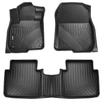 VIWIK Floor Mats for 2017-2020 Honda CRV, TPE Front and Rear Floor Liner Set for Honda CRV, Tough, Durable and Eco-Friendly, 100% Safe