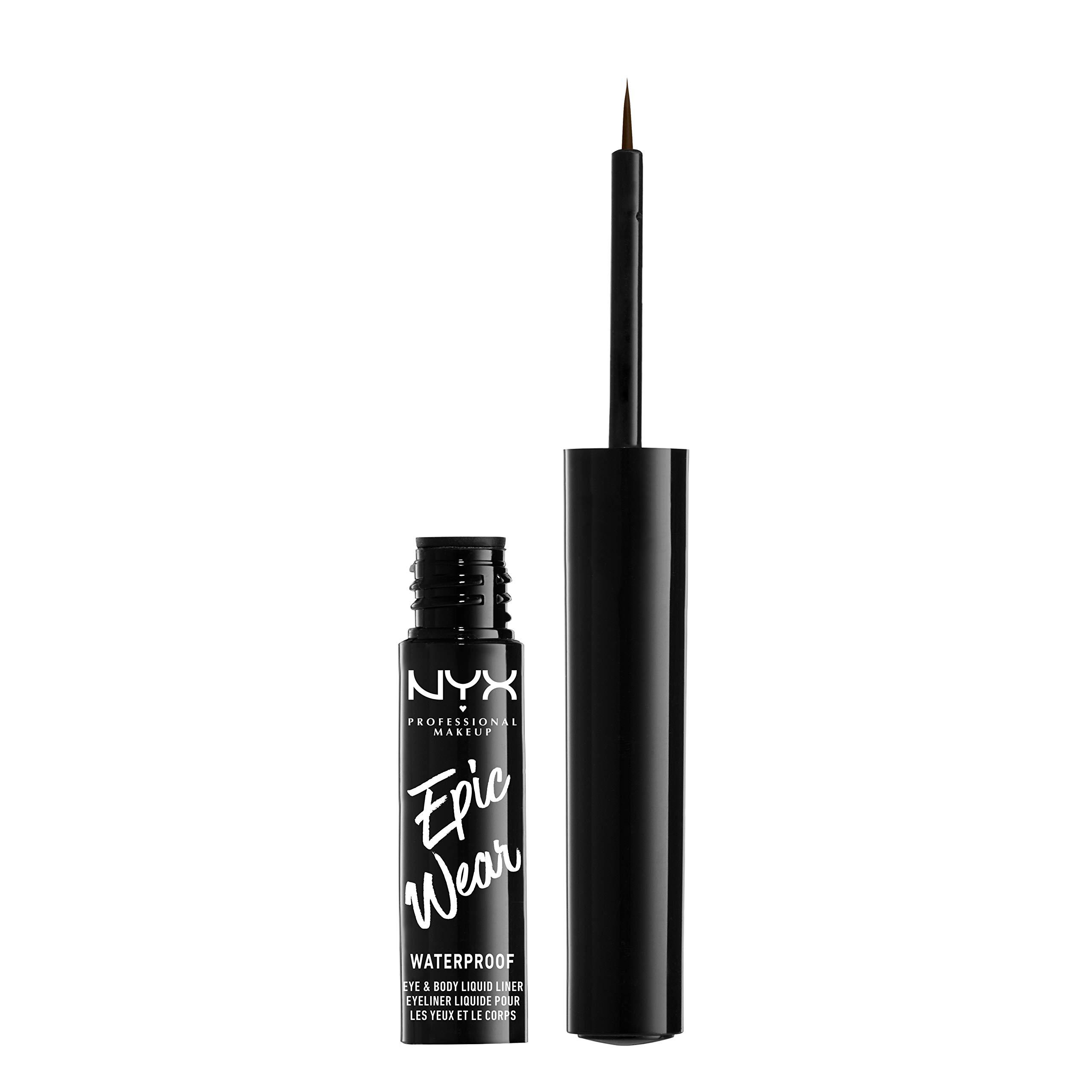 NNYX PROFESSIONAL MAKEUP Epic Wear Liquid Liner, Brown