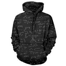 ZM Unisex Fashion 3D Pretty Pullover Hooded Hoodie Sweatshirt Athletic Casual with Pocket