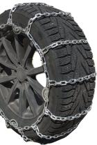 TireChain.com Compatible with Silverado 2500 HD LT Snow Plow 2017-2018 LT265/60R20 Load Range E Square Tire Chains