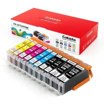 Galada Pgi-250xl Cli-251xl Ink Cartridges Compatible To Pixma Mx922 Mx722 Ip7220 Ip8720 Ix6820 Mg5420 Mg5422 Mg5520 Mg5522 Mg5620 Mg6320 Mg6420 Mg6620 Mg7120 Mg7520 Printer, 10 Piece