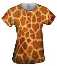 Yizzam- Giraffe Skin -Tshirt- Womens Shirt