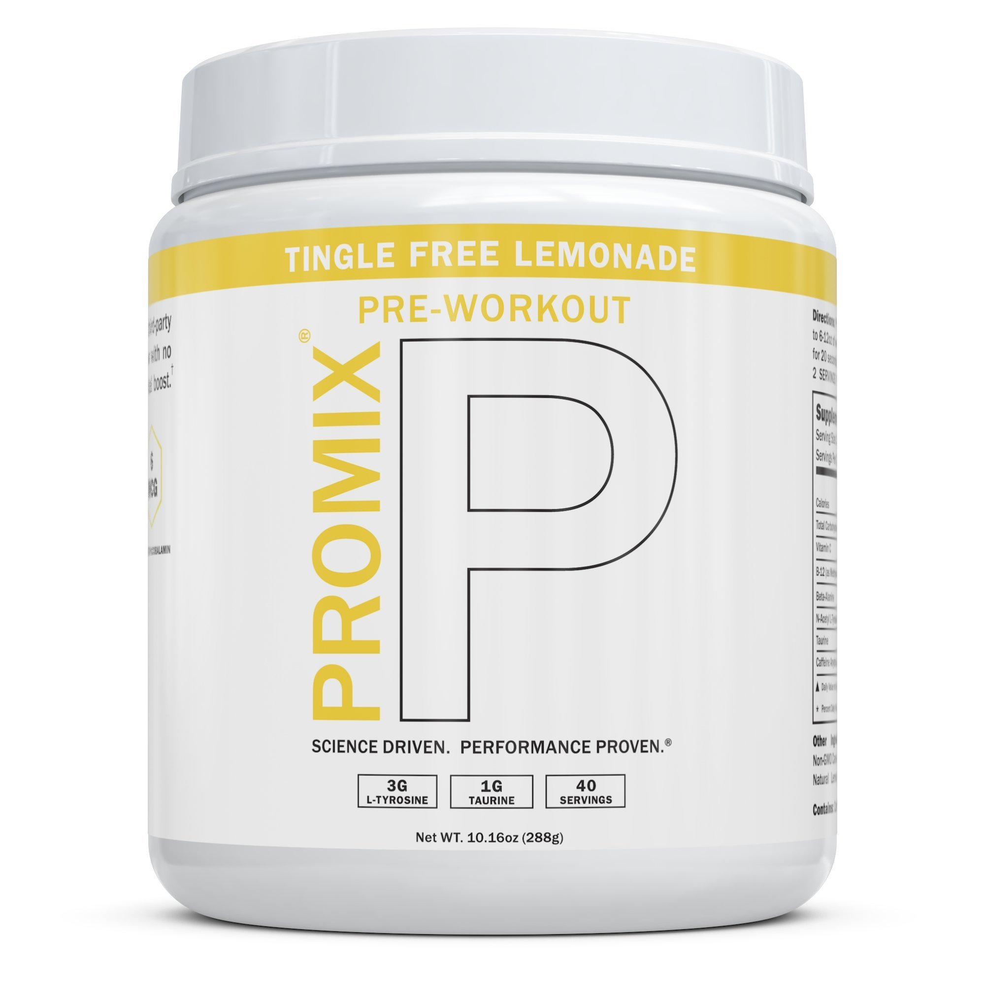 Keto Pre Workout Powder Supplement Natural Energy Focus I Paleo Performance PROMIX Women Men I Taurine Tyrosine Vitamin B12 Weight Fat Loss Blast Drink, No Preservatives, 1 Carb, No Tingle, Lemonade