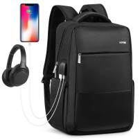Laptop Backpack, Large School Backpack for Men and Women with USB Charging Port