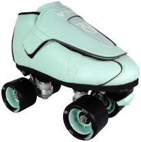 VNLA Mint Jam Skate Mens & Womens Skates - Roller Skates for Women & Men - Adjustable Roller Skate/Rollerskates - Outdoor & Indoor Adult Skate - Kid/Kids Skates (Mint Green)