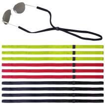 Leyaron 10 Pack Glasses Strap for Men Women, Eyeglass Sunglass Holder Straps