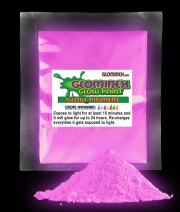 1oz Glow in The Dark Pigment - Glow Paint for Arts & Crafts, Music Festivals, Concerts and Night Events - Purple