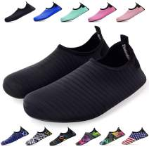 bridawn Water Shoes for Women and Men, Quick-Dry Socks Barefoot Shoes